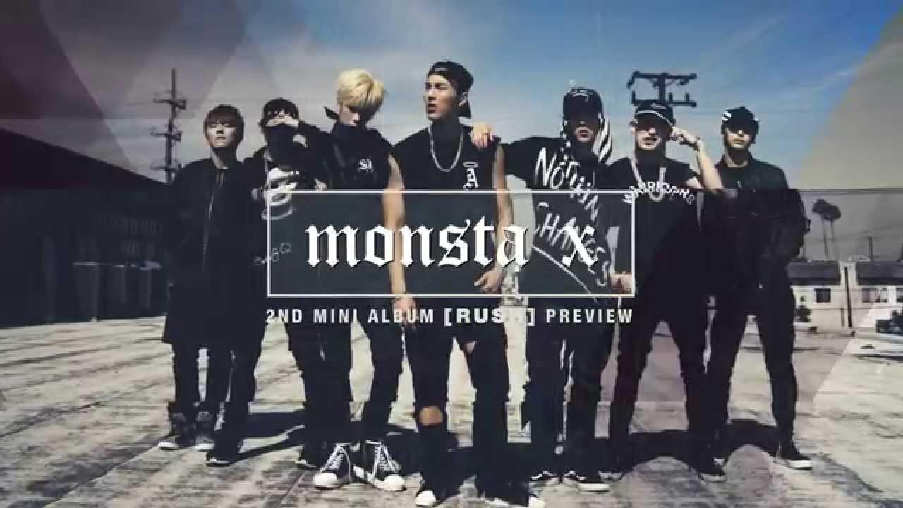 Preview 몬스타엑스 Monsta X 2nd Mini Album Rush Youtube
