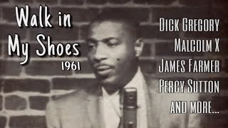 Walk In My Shoes - feat. Dick Gregory's First TV Appearance (1961)