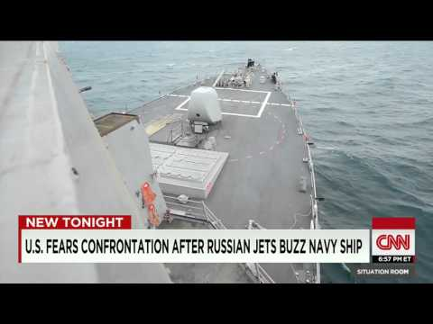 U.S. Fears Confrontation After Russian Jets Buzz Ship