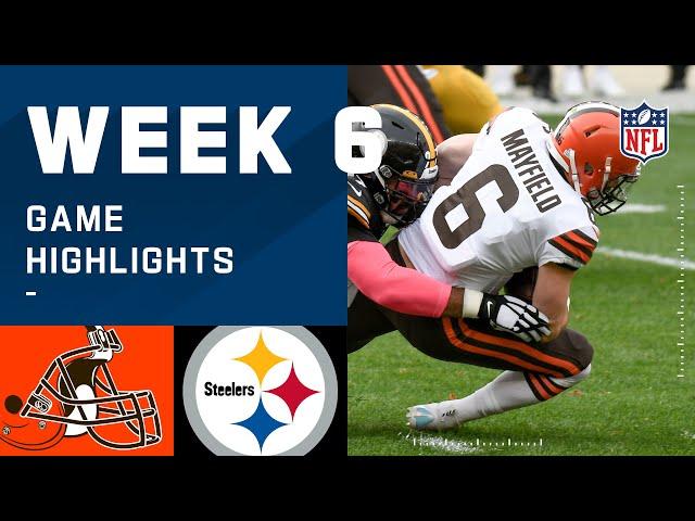 Browns vs. Steelers Week 6 Highlights   NFL 2020