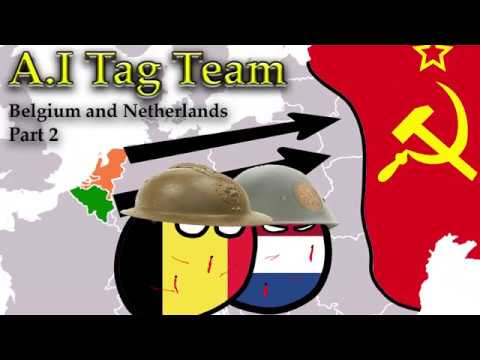 HOI4 | A I Tag Team | Belgium and the Netherlands Part 2