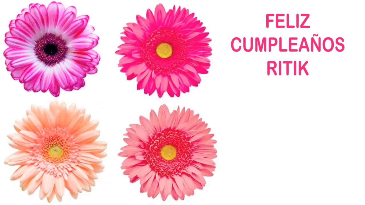 Ritik Flowers Flores Happy Birthday Youtube