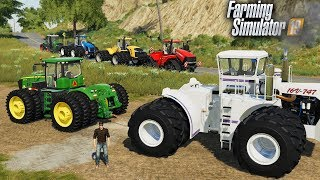 FS19- TUG OF WAR CHALLENGE - WHICH TRACTOR HAS THE MOST POWER?