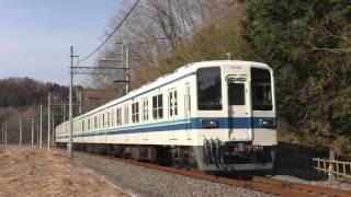 東武8000系8199F東武竹沢~男衾通過
