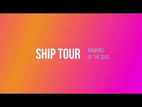 Radiance of the Seas Ship Tour