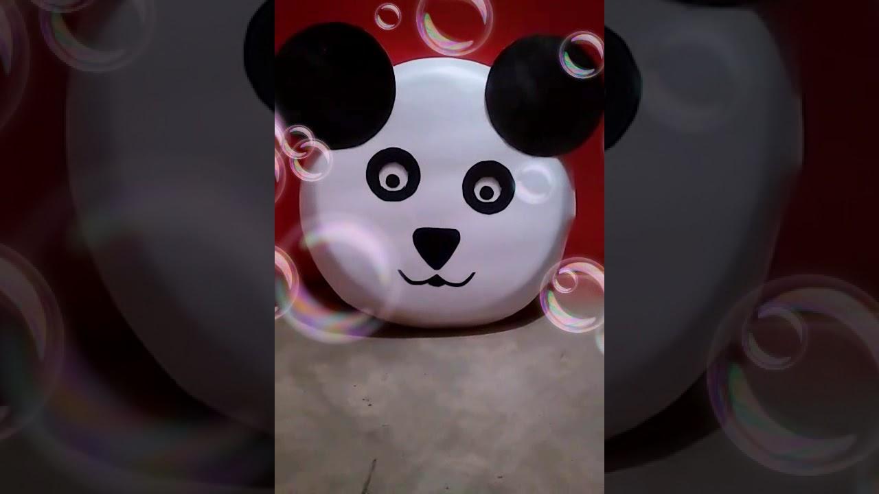 Make Paper Plates Panda 🐼 & Make Paper Plates Panda 🐼 - YouTube