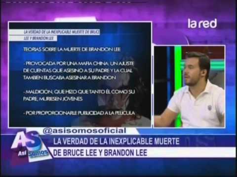 La verdad de la inexplicle muerte de Bruce Lee y Brandon Lee
