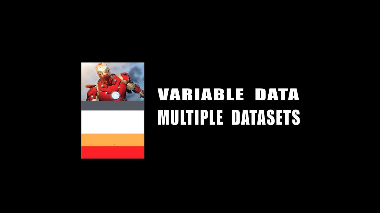 Adobe Illustrator Variable Data Multiple Datasets with VariableImporter  script