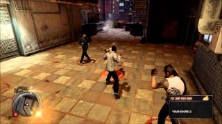 SLEEPING DOGS Gameplay Martial Arts Club North Point Commentary (HD)