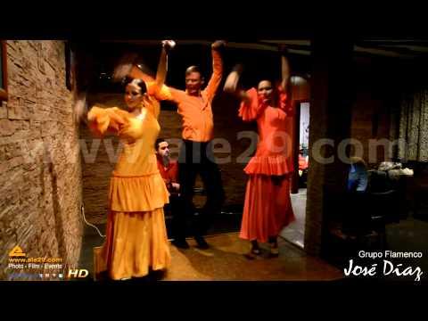 """Grupo Flamenco """"José Diaz"""" - Ale29 Eventos"""