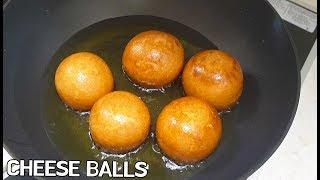 HOMEMADE CHEESE BALLS RECIPE 치즈볼 만들기 간단 레시피