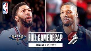 Full Game Recap: Pelicans vs Trail Blazers | Lillard, Layman, and McCollum Combine For 64 Points