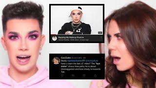 james charles DISSES tati westbrook
