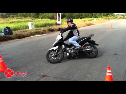 2012 TopRide Gymkhana - GP8 - Nghia - Yamaha Exciter 135