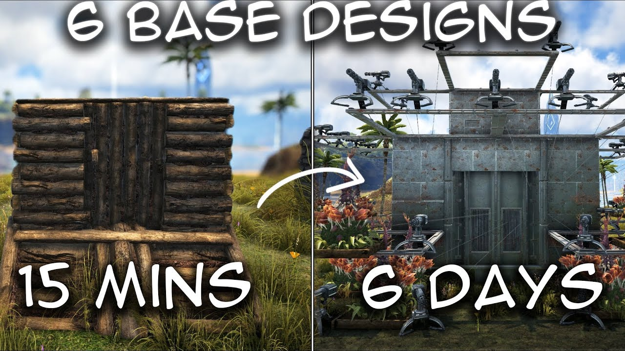 Ark | The Ultimate Early To Late Game How To Upgrade Your Base [Ark  Survival Evolved][Tutorial]