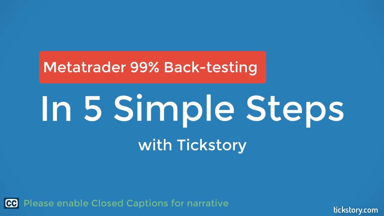 Metatrader 4 99 Back Testing In 5 Simple Steps Youtube