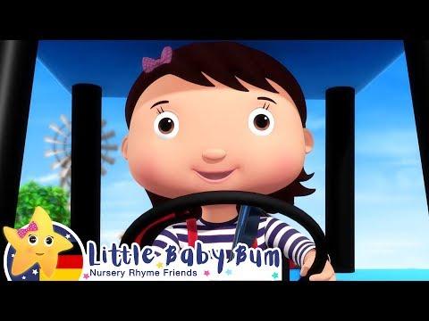 das-treckerlied-v2-|-karikatur-und-kinderlieder-|-little-baby-bum-deutsch