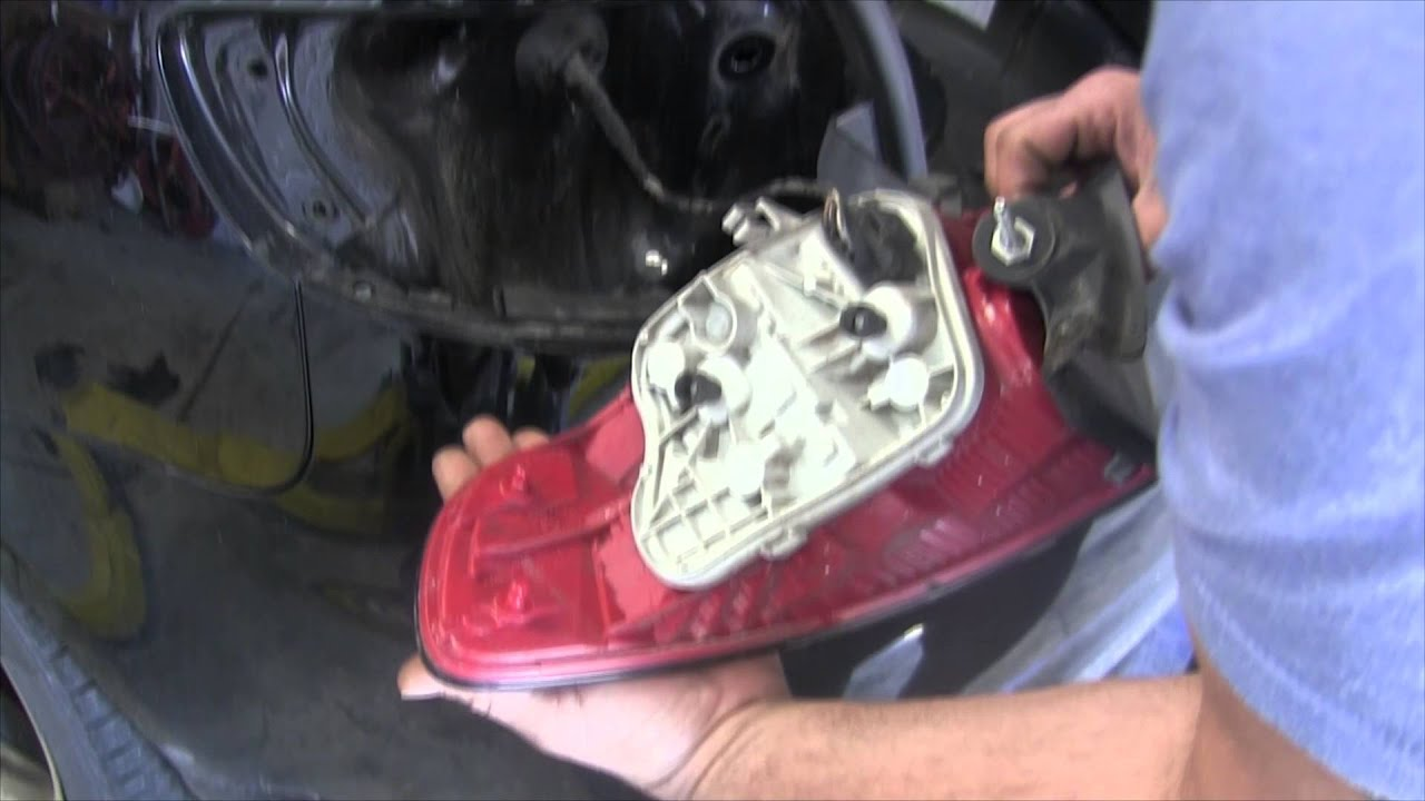How To Remove Your Tail Light Replace Bulbs Audi A3