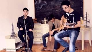 Lặng Thầm Một Tình Yêu  -  Đỗ Thành Nam ft  Minh Mon & Trung Kiên Acoustic Cover
