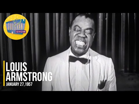 """Louis Armstrong """"Nobody Knows The Trouble I've Seen"""" on The Ed Sullivan Show"""