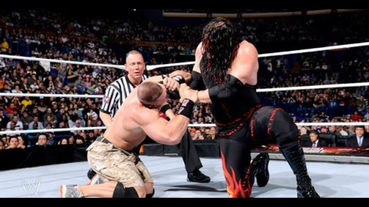 Kane vs John Cena - Raw 2012