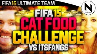 FIFA 15 CAT FOOD CHALLENGE! - v ITSFANGS
