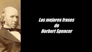 Frases célebres de Herbert Spencer