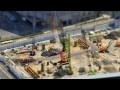 工事現場を微速度撮影でミニチュア風に の動画、YouTube動画。