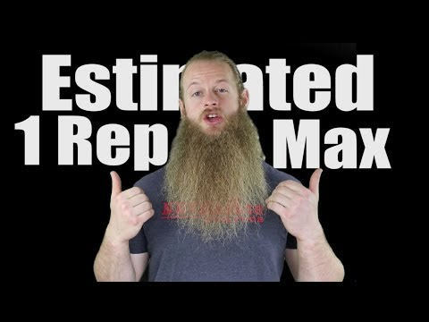Are Estimated 1 Rep Maxes Useful?