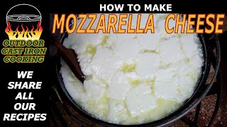 How to Make Mozzarella Cheese