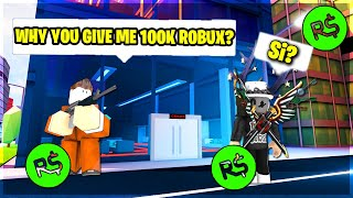 HelloItsVG WILL GIVE YOU 1000$ ROBUX IF YOU DO THIS... (ROBLOX JAILBREAK)
