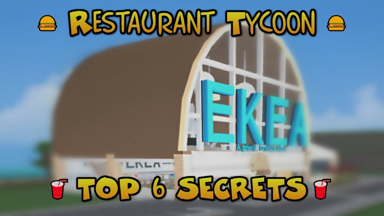 Restaurant Tycoon Top 6 Secrets Tips And Tricks Youtube