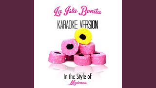 La Isla Bonita (In the Style of Madonna) (Karaoke Version)