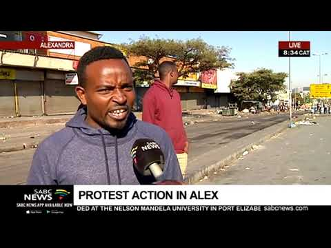 Shops Looted In Alexandra | Nozintombi Miya Reports