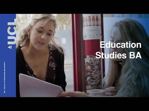 Education Studies BA | UCL Institute of Education