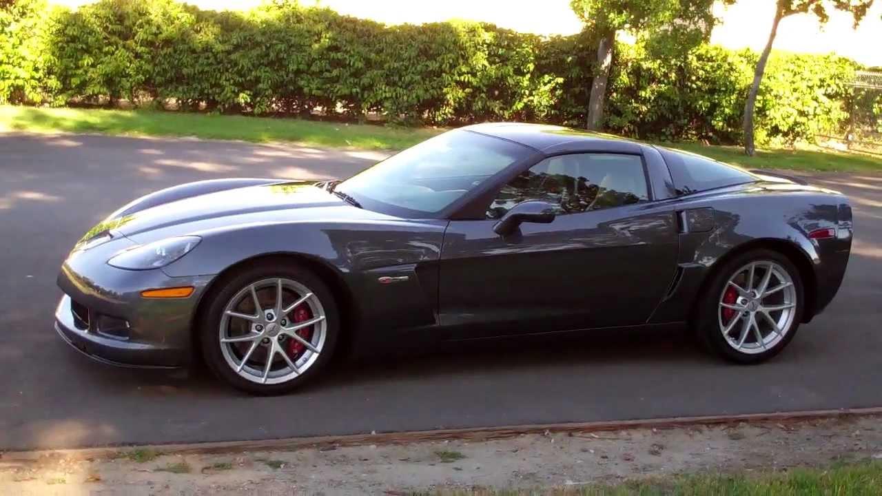 Corvette Z06 For Sale >> SOLD 2010 Corvette Z06 cyber gray 4 for sale by Corvette ...