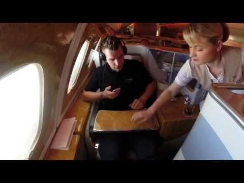 Emirates Business Class A380