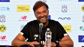 Klopp & Henderson's pre-Borussia Dortmund press conference from Notre Dame