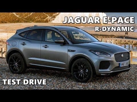 2018 jaguar e pace r dynamic test drive youtube. Black Bedroom Furniture Sets. Home Design Ideas