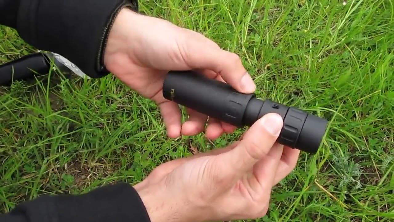 Nikula pocket monocular telescope 10 30x25 zoom youtube
