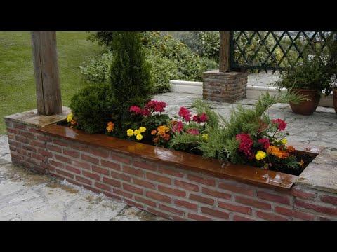Jardinera pretil o imitaci n a ladrillo bricoman a youtube - Como hacer jardineras de piedra ...