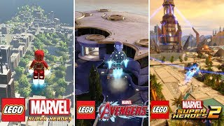 LEGO Marvel Games - OPEN WORLD EVOLUTION! (LEGO Marvel Super Heroes 1 vs Superheroes 2 / Avengers)