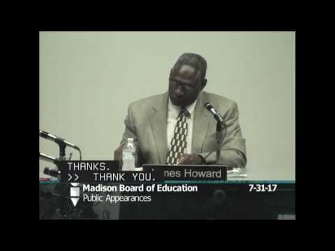 Board of Education Regular Meeting 7/31/2017