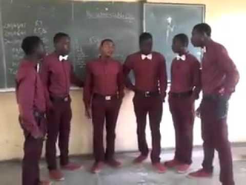 Nigerian Kids Harmonizing a beautiful song.