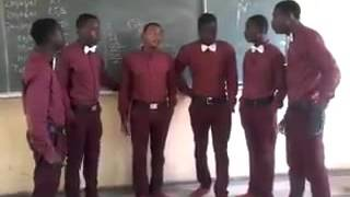Nigerian Kids Harmonizing a beautiful song.