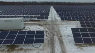 58 MW PV-Projekt Retschyza, Weißrussland