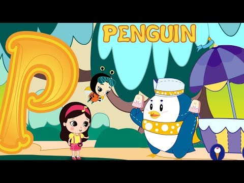 Letter P - Olive And The Rhyme Rescue Crew | Learn ABC | Sing Nursery Songs