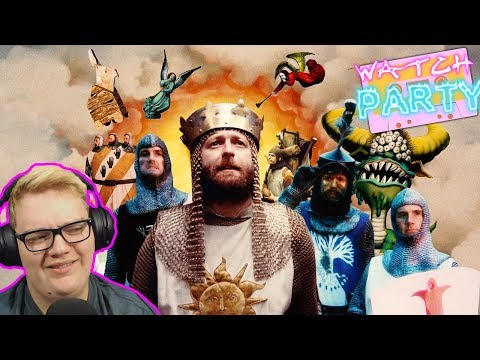 Reaction - Monty Python And The Holy Grail - For The First Time - Watch Party