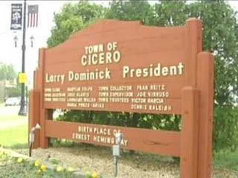 """Town President Dominick delievers """"State of Cicero 2008"""""""
