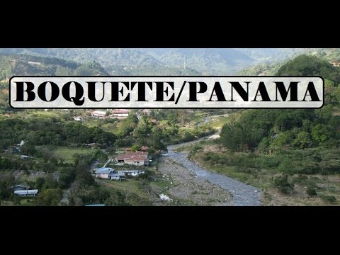 Panama-Beautiful Boquete.(Valley of the Flowers)  Part 3